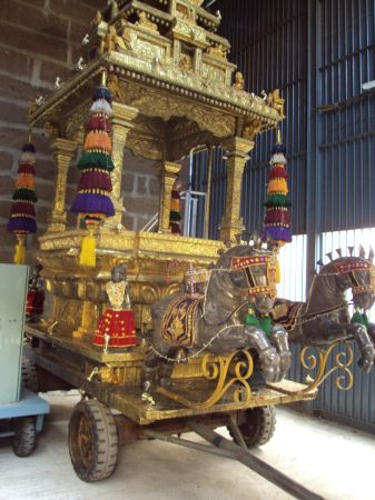 Golden chariot - Thanga ratham