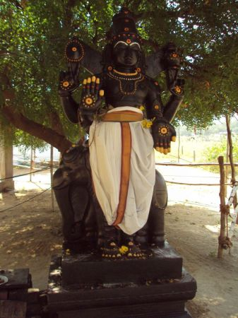 Vishnu at Balaji temple