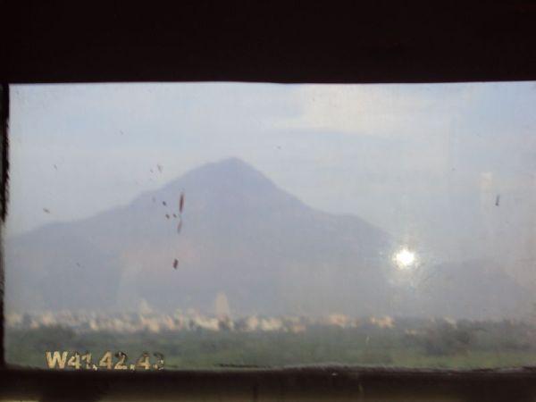 Thiruvannamalai thru a bus window