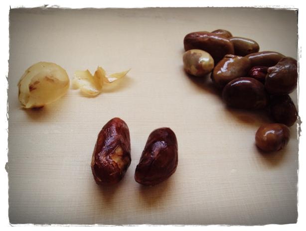 boiled jackfruit seeds