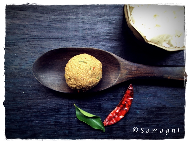 Roasted Coconut Chutney