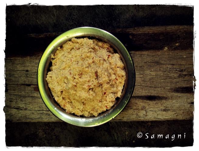 Kerala Style Raw Mango Chutney
