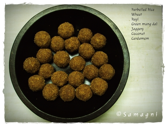 Multigrain laddu